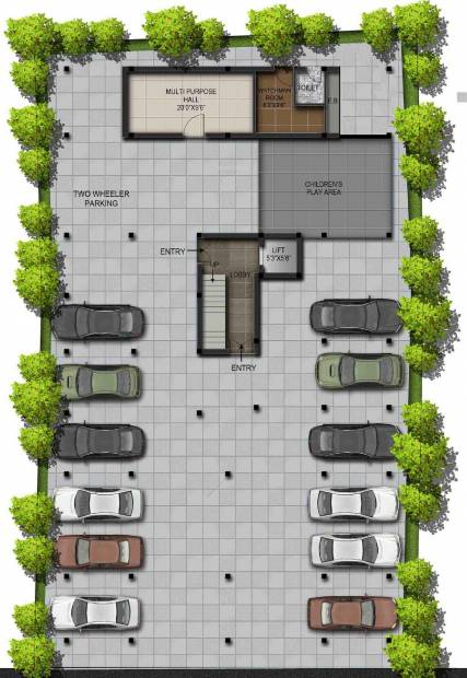 Images for Cluster Plan of Residency Mayura