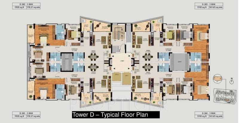 Images for Cluster Plan of Mantri Lithos