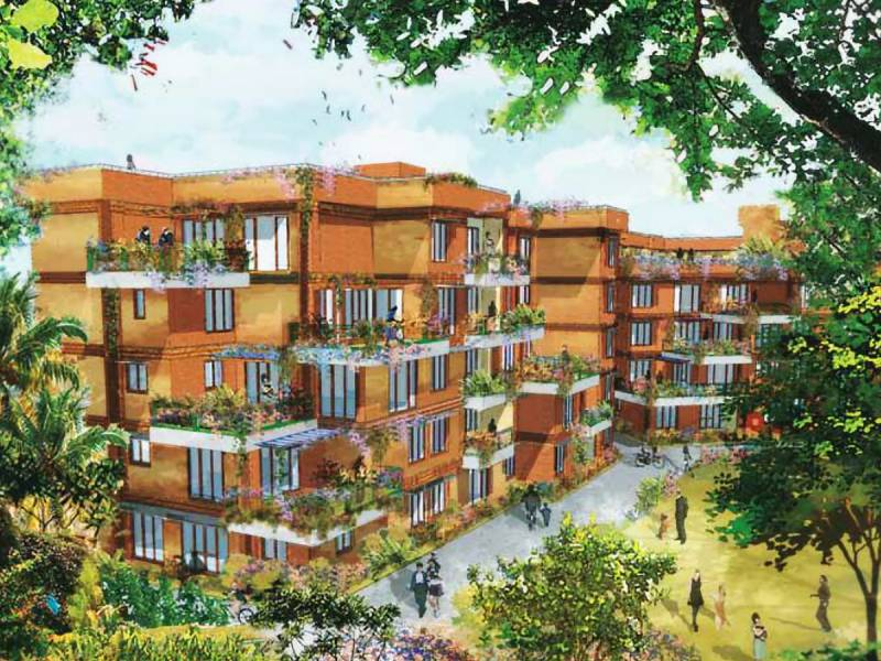 Images for Elevation of Good Malhar Terraces