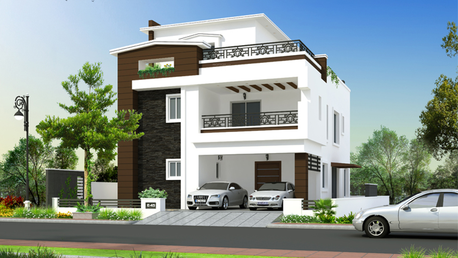 N Home Plan And Elevation : Greenmark mayfair villas in gopanpally hyderabad price
