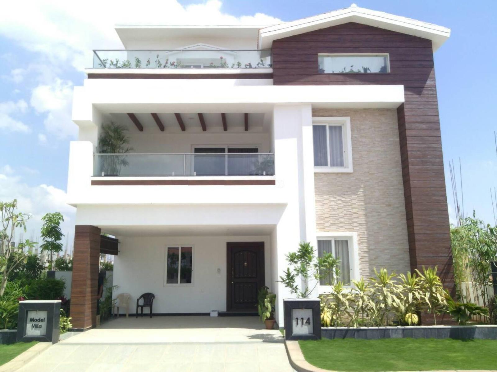 Triplex Floor Plans 4310 Sq Ft 4 Bhk 5t Villa For Sale In Greenmark Developers