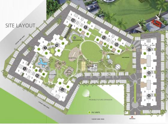 orchid-whitefield Images for Layout Plan of Goyal Orchid Whitefield