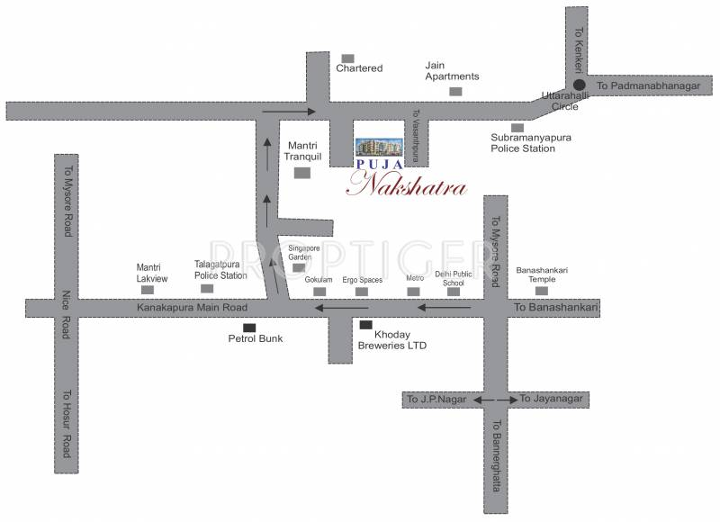 Images for Location Plan of Puja Nakshatra