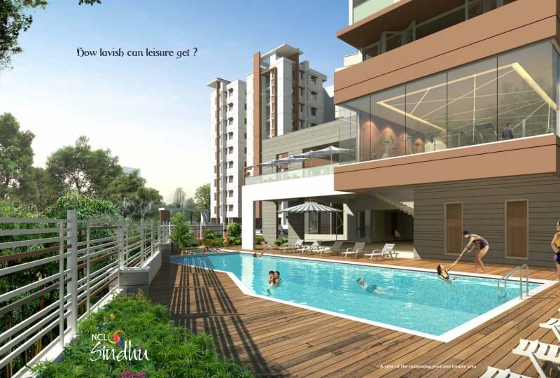 Image Of Swimming Pool Of Ncl Homes Ltd Sindhu Kompally Hyderabad