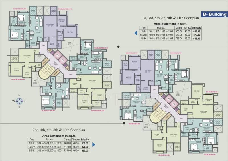 Images for Cluster Plan of Sagar D Wisteria Park