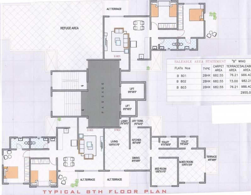 Images for Cluster Plan of Vaishnavi Sahil Vighnesh Residency