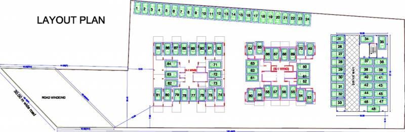Images for Layout Plan of Vaishnavi Sahil Vighnesh Residency