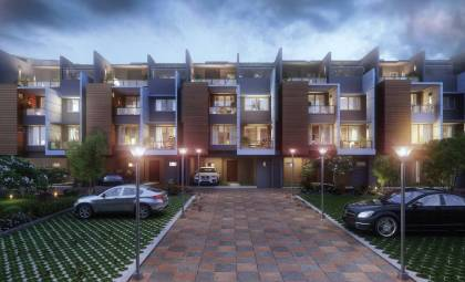 Images for Elevation of Purva Coronation Square Villas