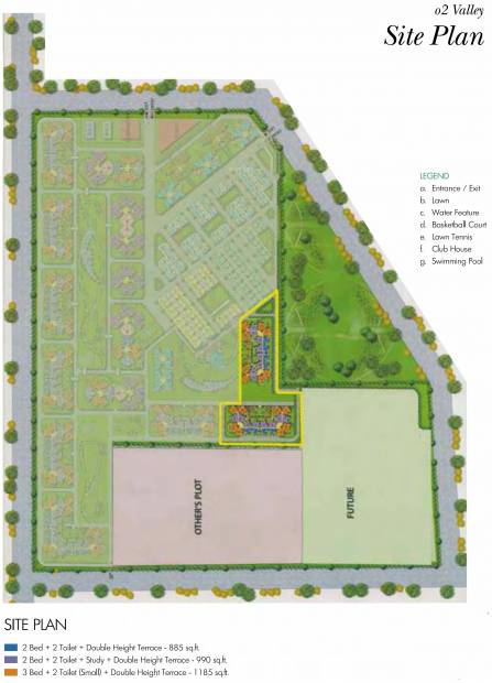 o2-valley Images for Site Plan of Amrapali O2 Valley