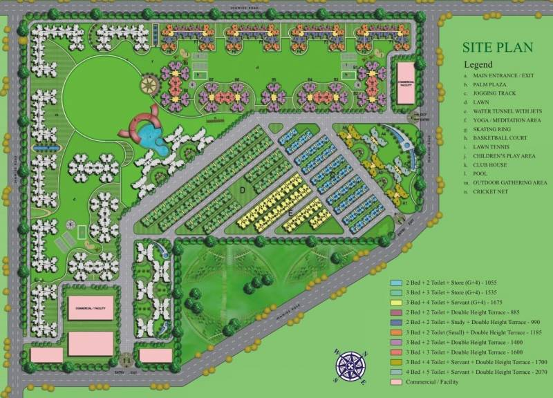 Images for Site Plan of Amrapali O2 Valley
