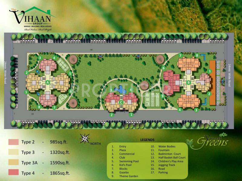 Images for Site Plan of Vihaan Greens