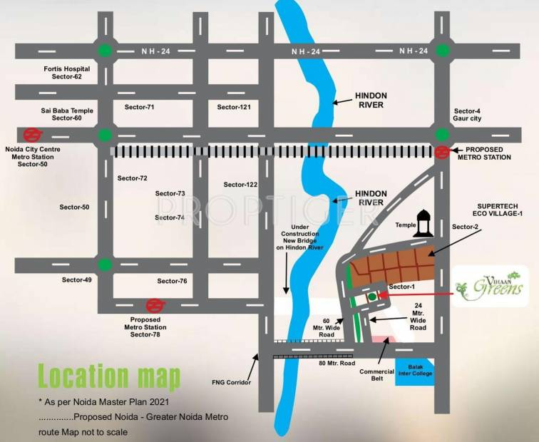 Images for Location Plan of Vihaan Greens