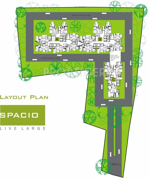 Images for Layout Plan of Unishire Spacio