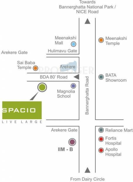 Images for Location Plan of Unishire Spacio