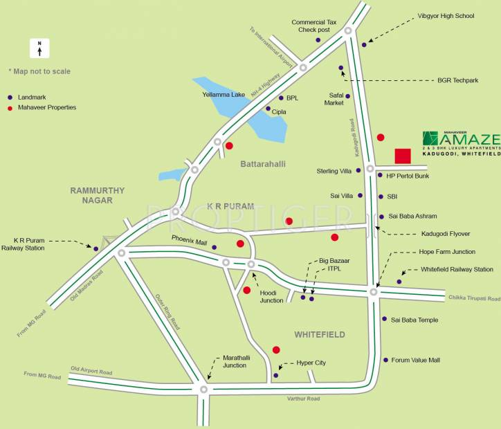amaze Images for Location Plan of Mahaveer Amaze