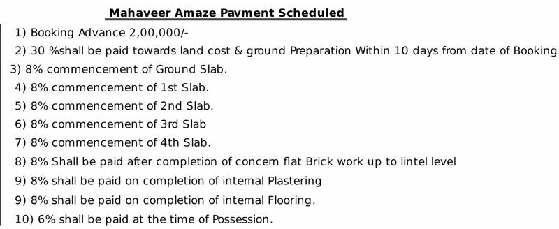 amaze Images for Payment Plan of Mahaveer Amaze