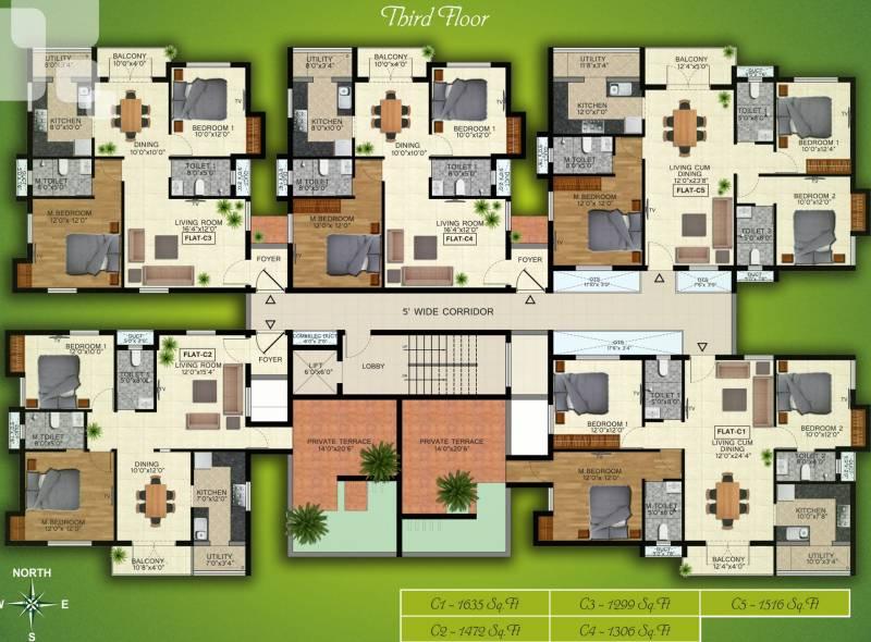 Images for Cluster Plan of Natwest Vistas