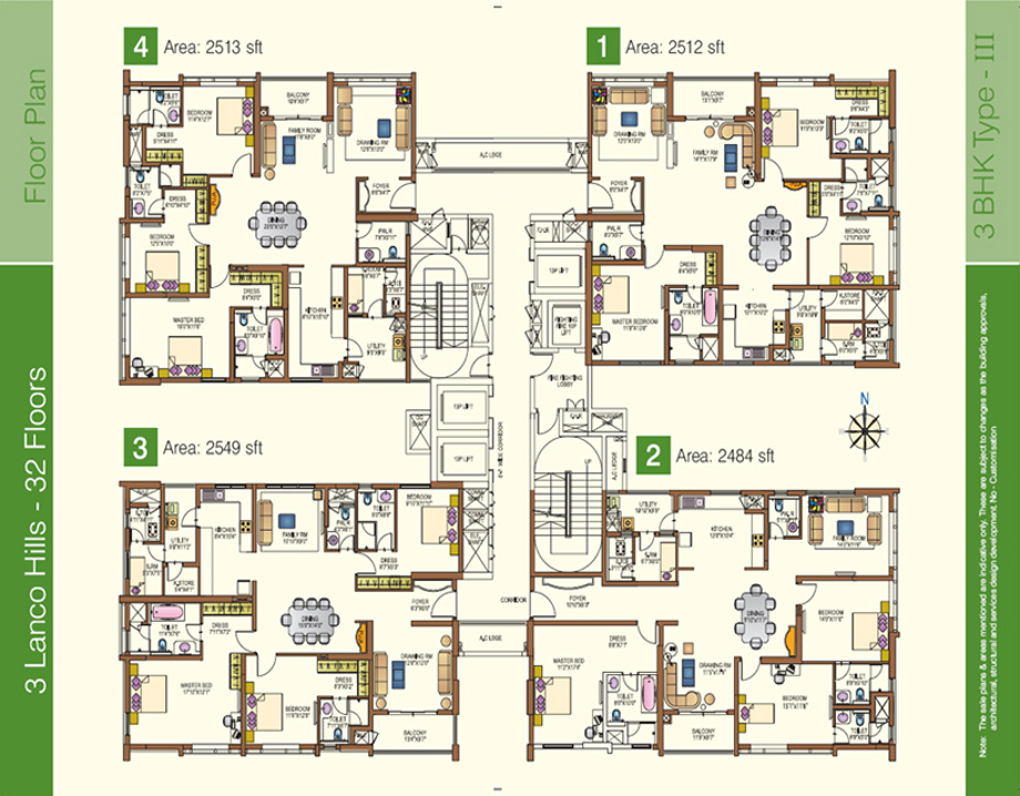 Interesting Apartment Floor Plans In Hyderabad Plan With