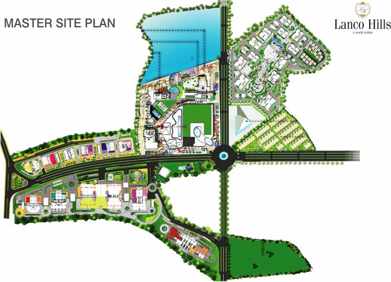 Images for Master Plan of Lanco Hills Apartments
