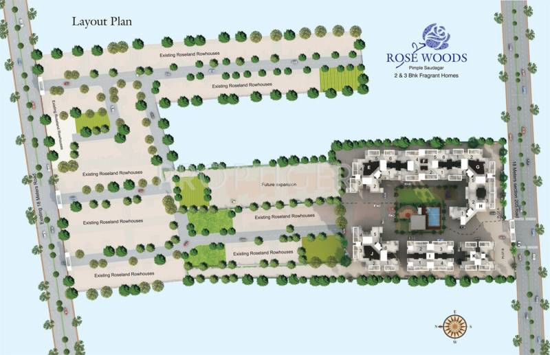 Images for Layout Plan of GK Developers Rose Woods