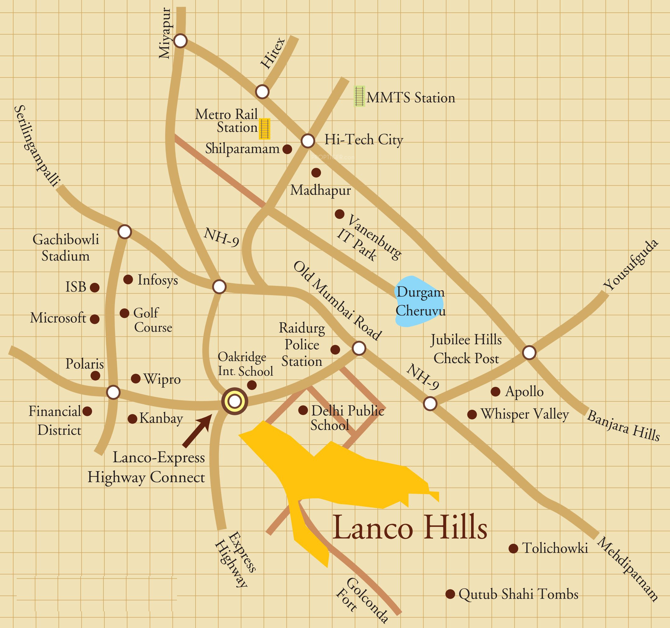 lanco hanging gardens villas in manikonda hyderabad price location map floor plan reviews proptigercom