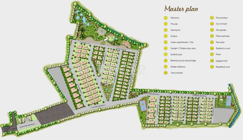 Images for Master Plan of Golden Golden Homes III