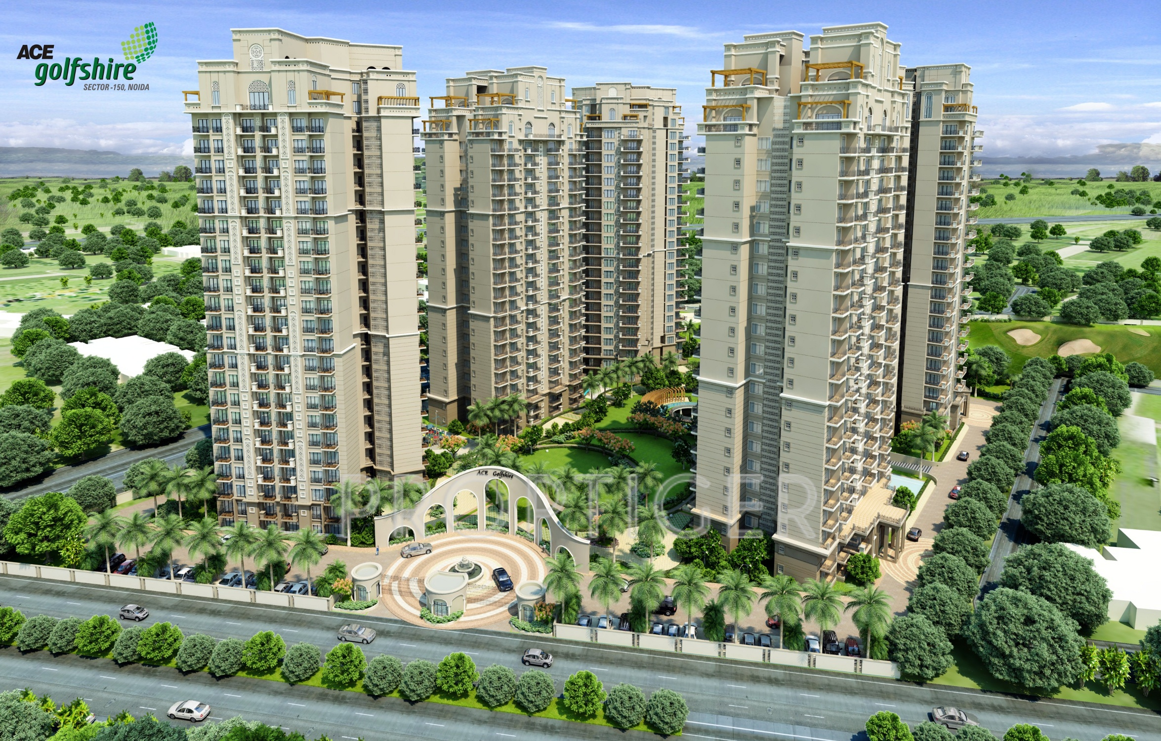 Ace Golfshire I Sector 150, Noida - Pris, beliggenhed kort-4115