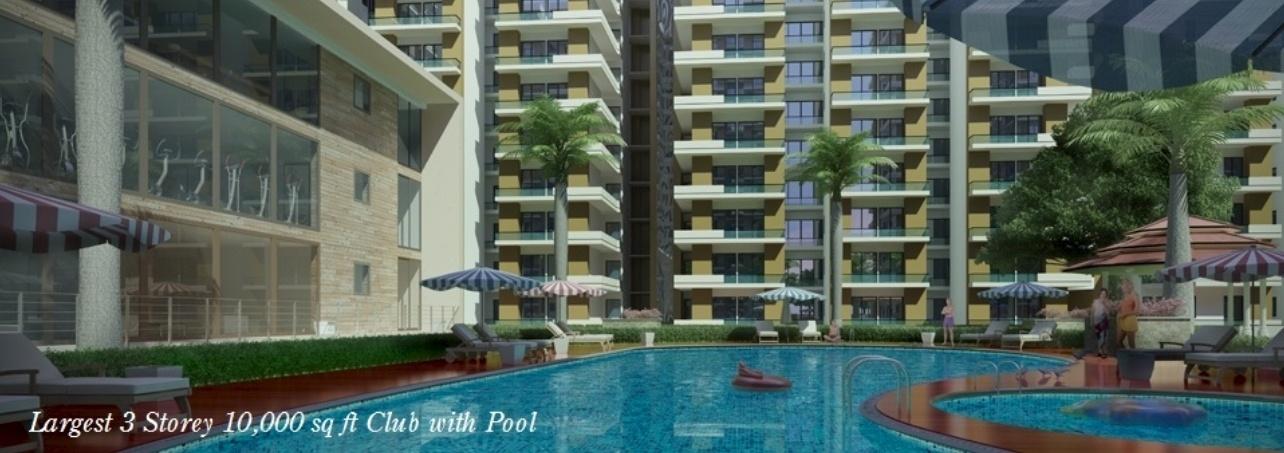 Dwarika garden city in raj nagar extension ghaziabad - Swimming pool in vaishali ghaziabad ...