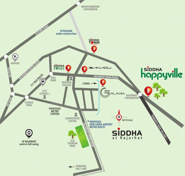 happyville Images for Location Plan of Siddha Happyville