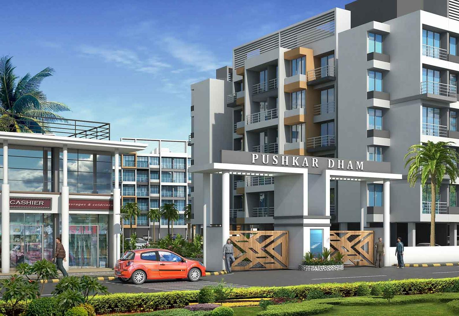 640 Sq Ft 1 Bhk 1t Apartment For Sale In Pushkar Gruh
