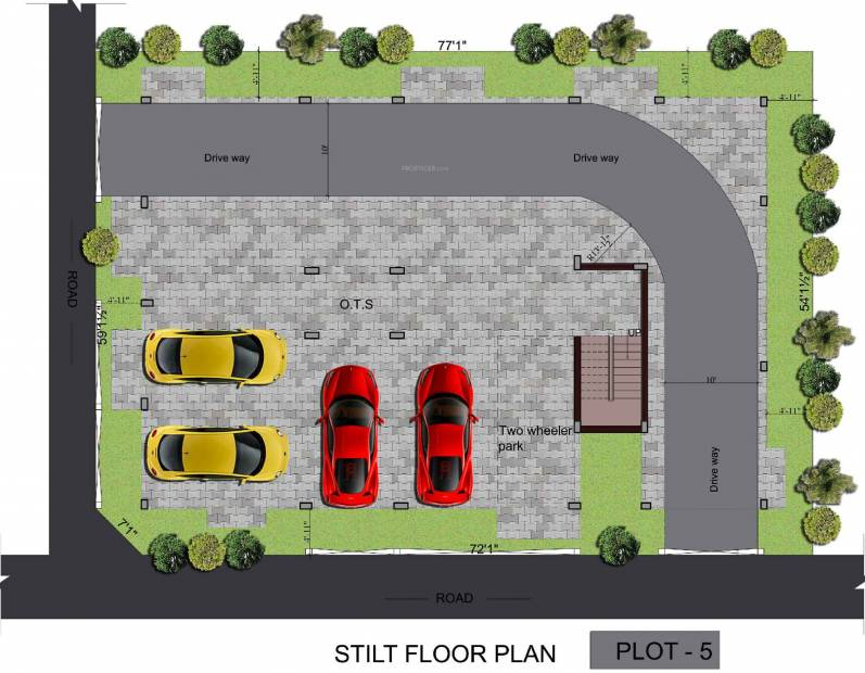 Images for Cluster Plan of Srivatsa Sri Guhan Enclave