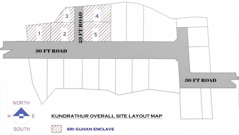 Images for Layout Plan of Srivatsa Sri Guhan Enclave