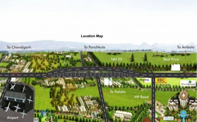 Images for Location Plan of NK Savitry Greens