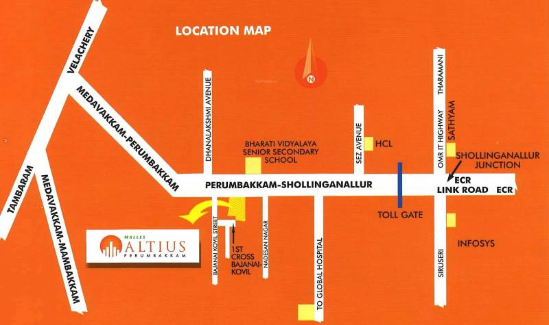 Images for Location Plan of Malles Altius