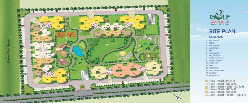 angel-golf-avenue-ii Images for Site Plan of Aims Angel Golf Avenue II