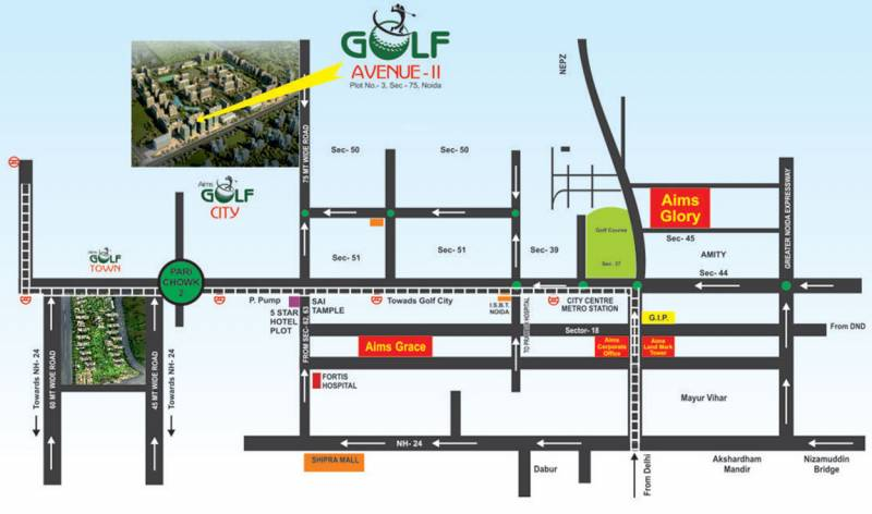 angel-golf-avenue-ii Images for Location Plan of Aims Angel Golf Avenue II