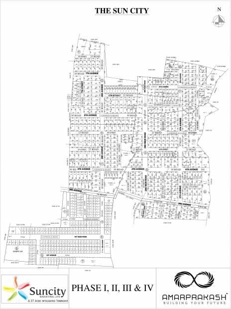 Images for Layout Plan of Amarprakash Suncity Villa