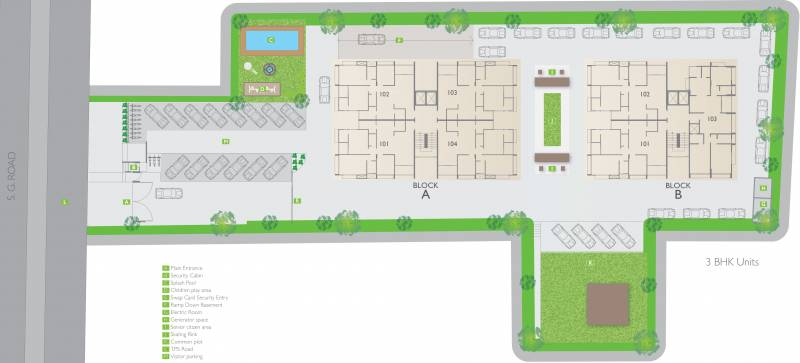 Images for Site Plan of Siddhi Aarohi Agha