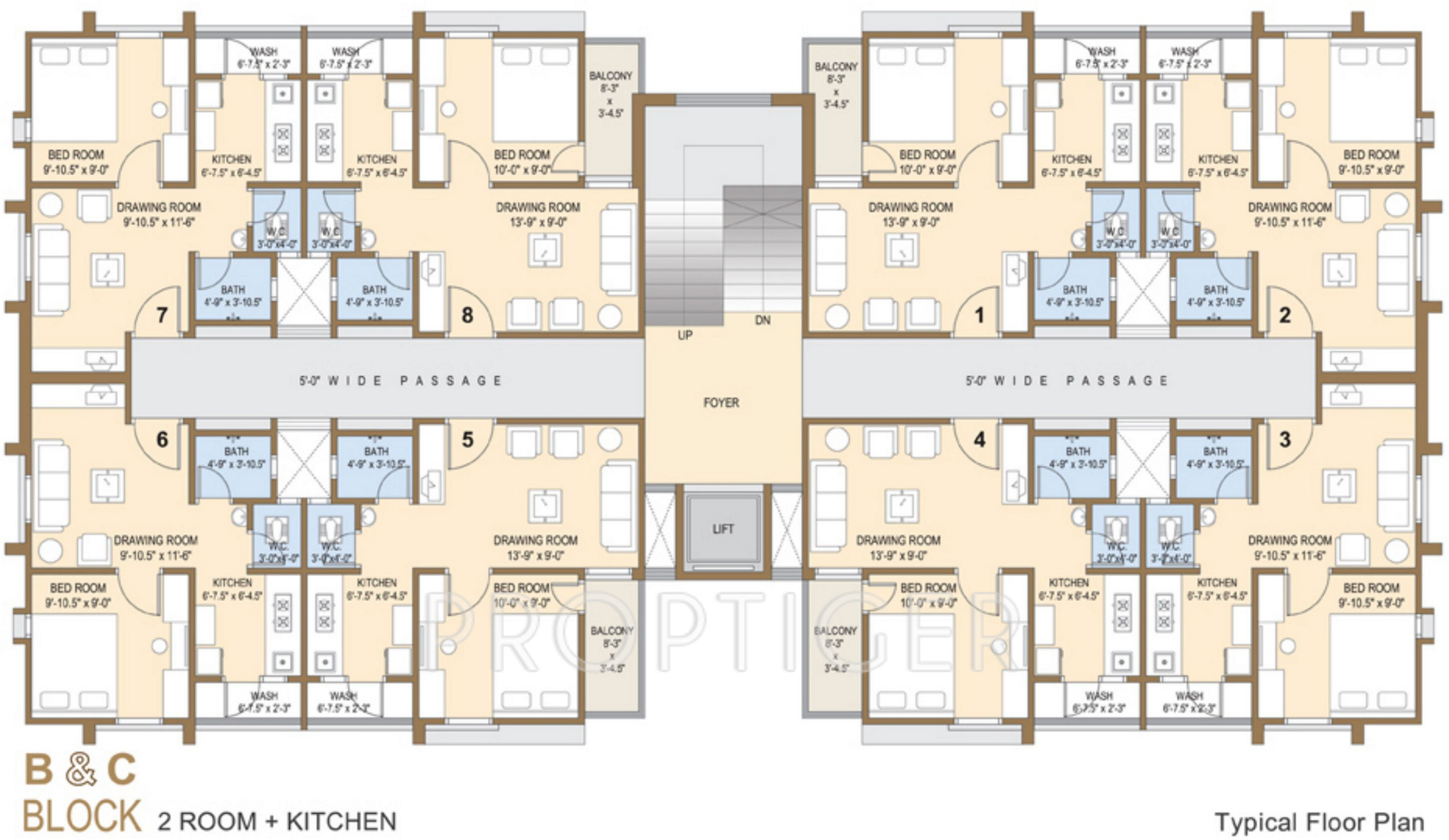 648 sq ft 1 bhk 1t apartment for sale in aroma realties for Apartment floor plans for sale