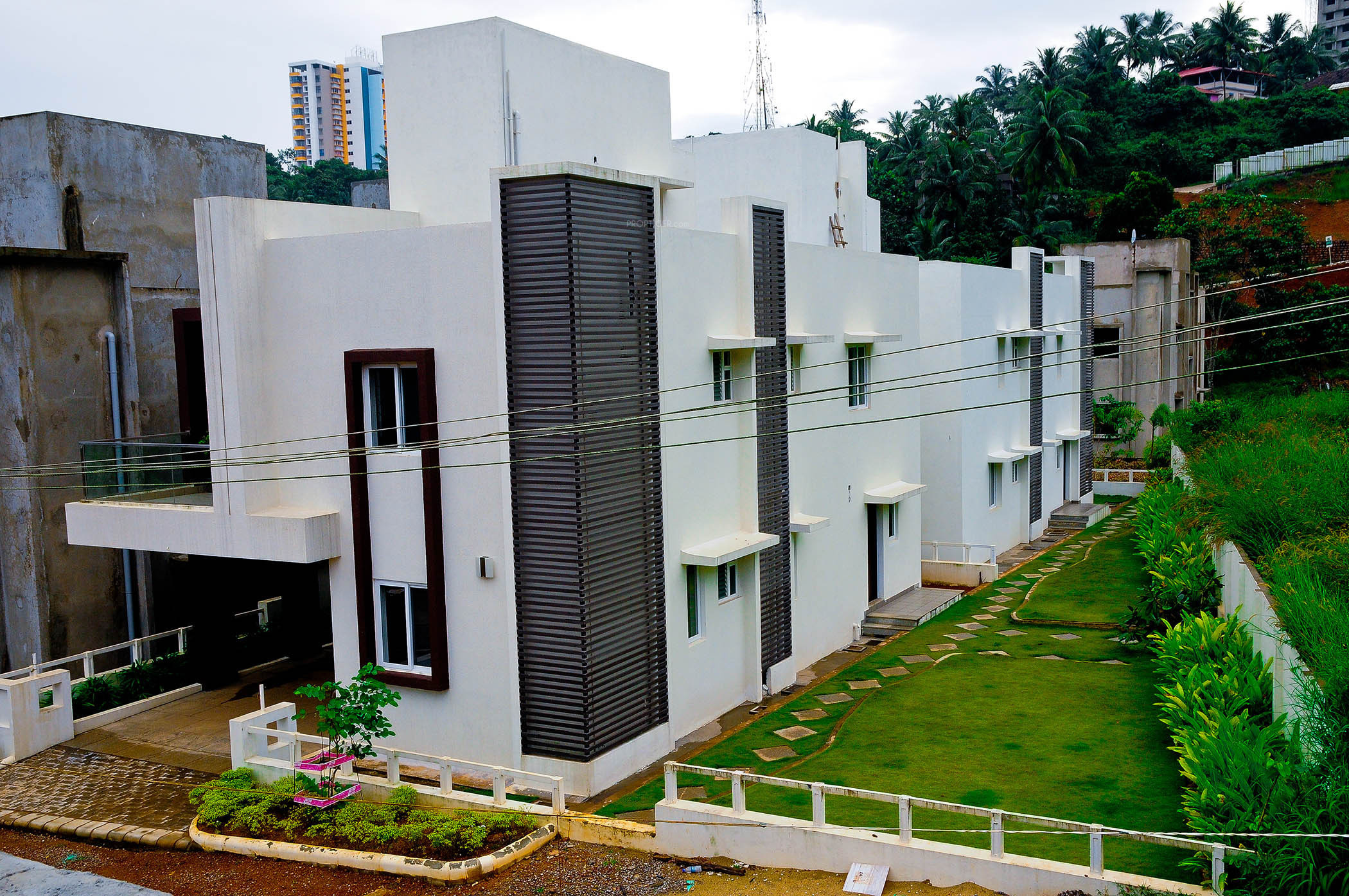 Charmant Images For Elevation Of Pooja Gardens Of Delight