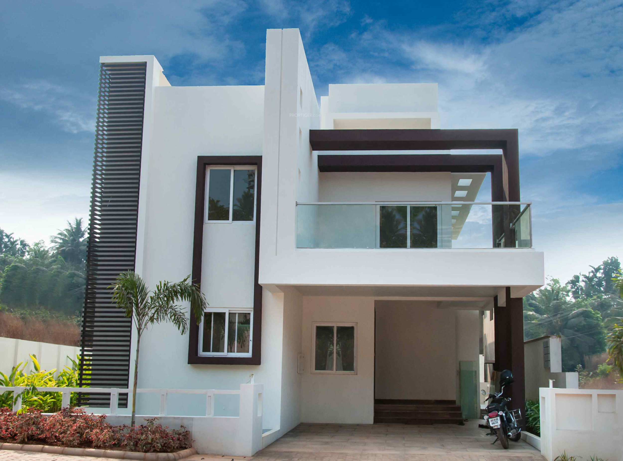 Genial Images For Elevation Of Pooja Gardens Of Delight