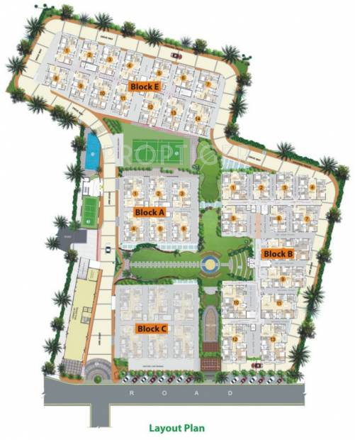 Images for Layout Plan of Vaishnavi Fresh Living Apartments