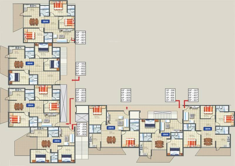 Images for Cluster Plan of Adonai Adonai Glory