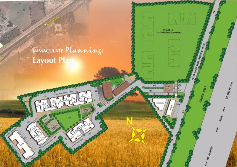 Images for Layout Plan of Vipul Pratham Apartments