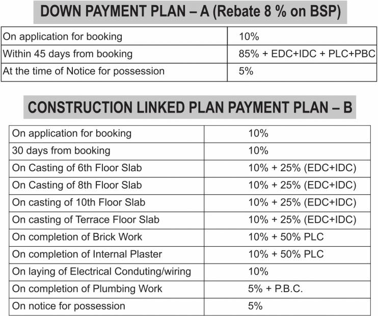 Images for Payment Plan of Vipul Pratham Apartments