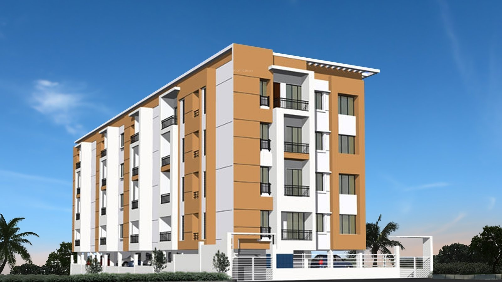 960 sq ft 2 BHK 2T Apartment for Sale in Future Homes ...