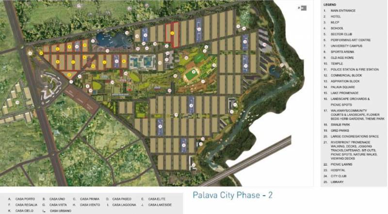 Images for Layout Plan of Lodha Palava Lakeshore Greens