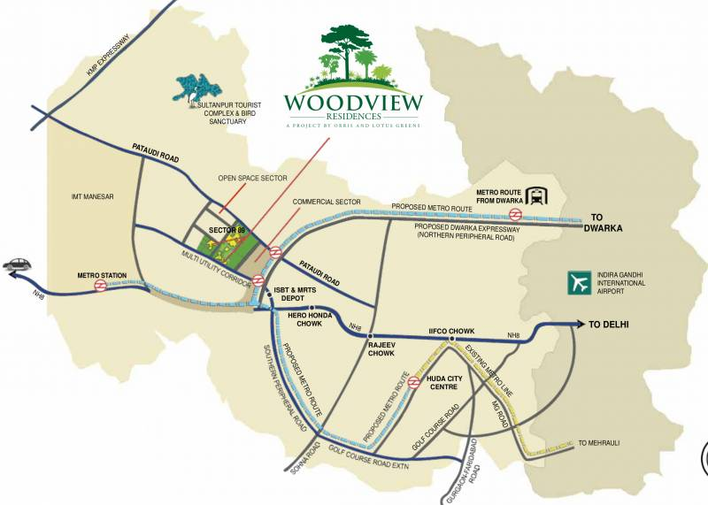 Images for Location Plan of Lotus Woodview Residences