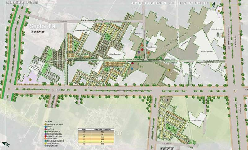 Images for Master Plan of Lotus Woodview Residences
