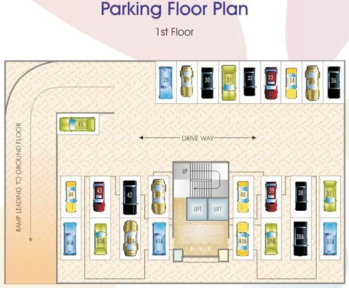 Images for Cluster Plan of Sunny Orchid Arcade